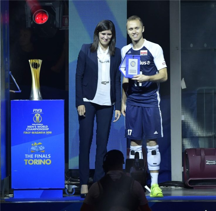 Zatorski Called Grebennikov After Winning Best Libero Award At The WCH