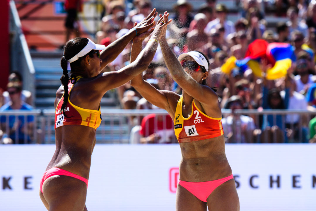 Galindo Sisters Hope To Take Colombia To Tokyo 2020 Beach Competition