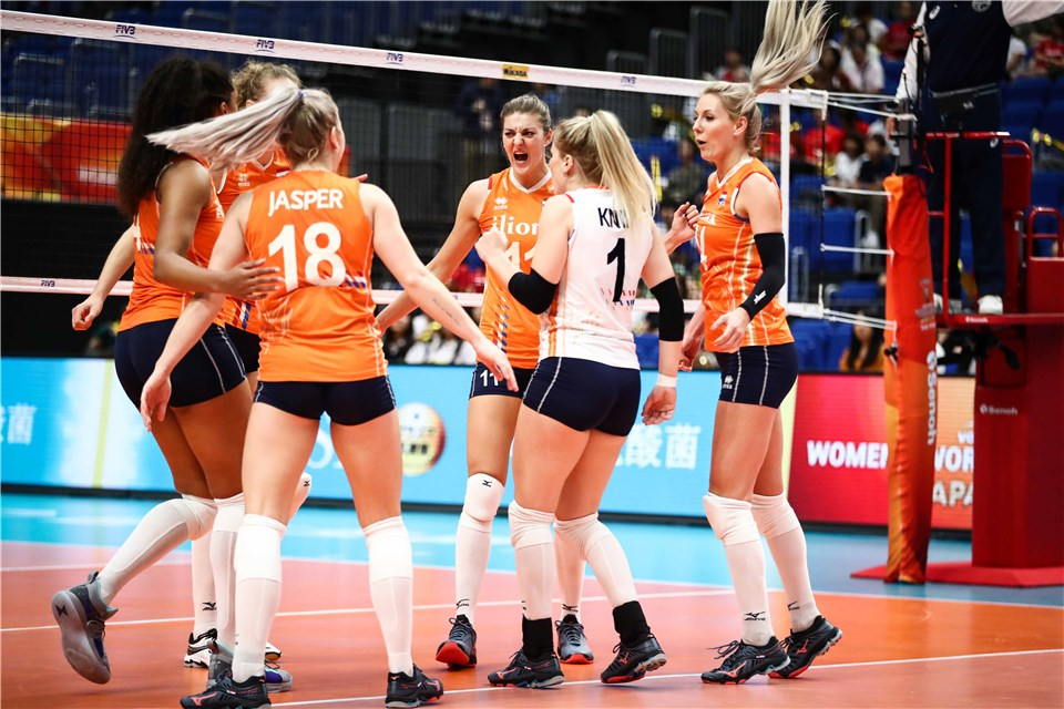6 Teams Locked in for Final 6 at Volleyball World Championships