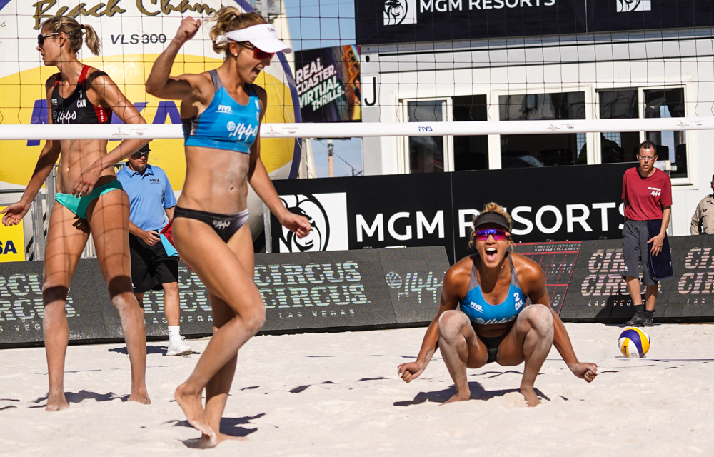Canada's Bansley/Wilkerson Hold On to Win Vegas Gold in Tiebreak