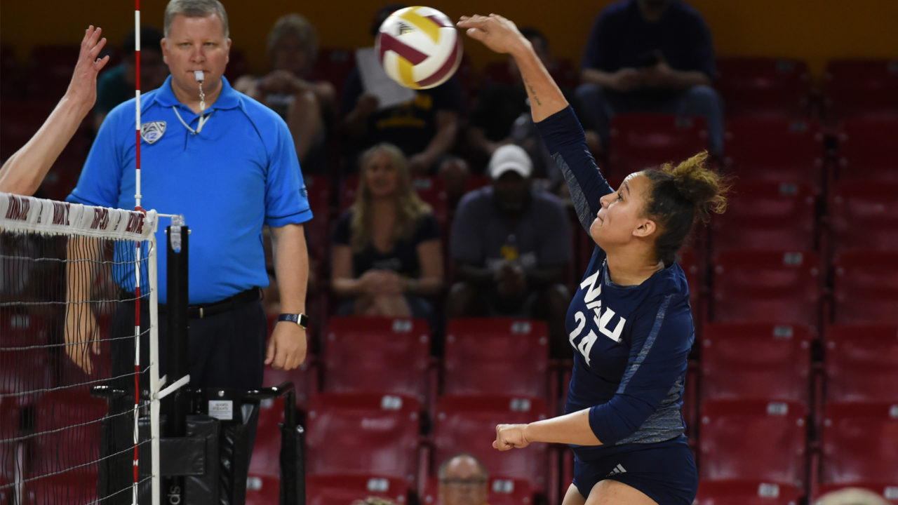 Northern Arizona Begins Critical Big Sky Trip with Sweep