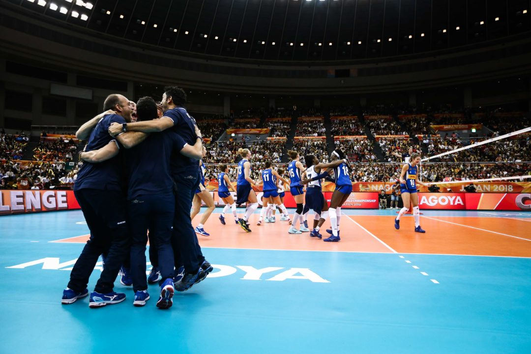 Italy Survives Five Setter with Japan to Claim Semifinals Spot