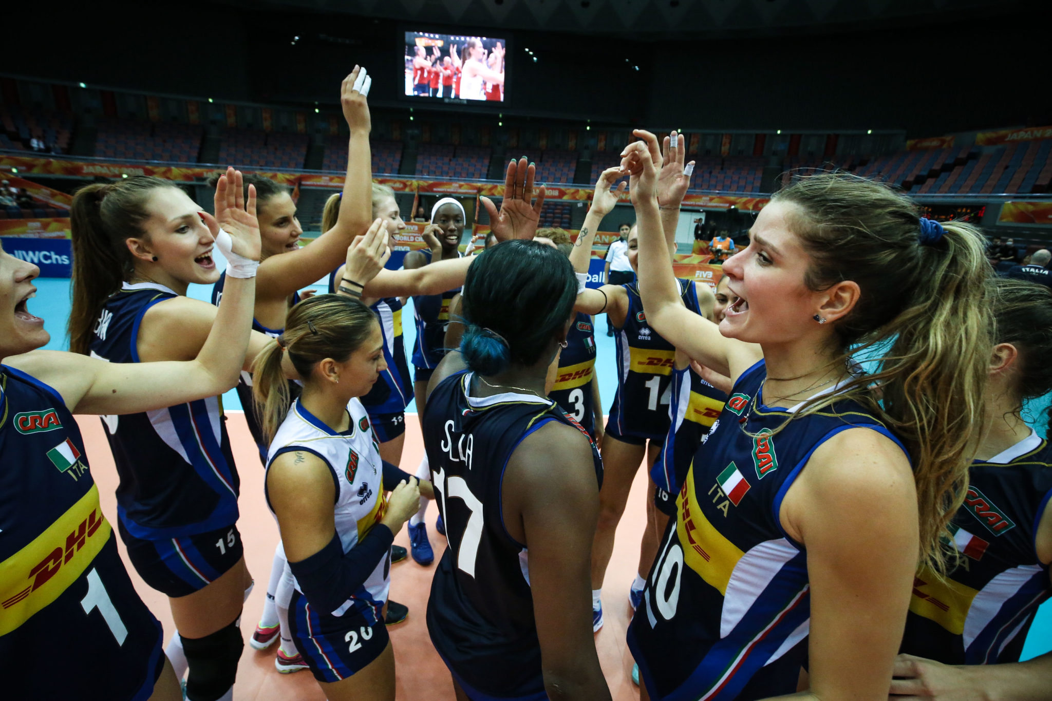 2018 Women's Volleyball World Championships: Oct. 11 Daily ...