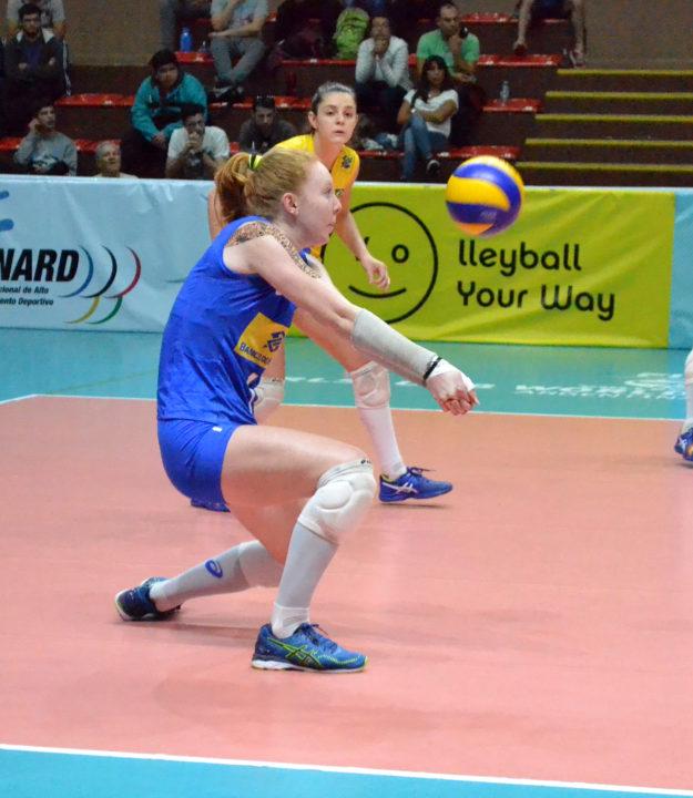 6'5″ Brazilian Outside Hitter Júlia Bergmann Joins Georgia Tech