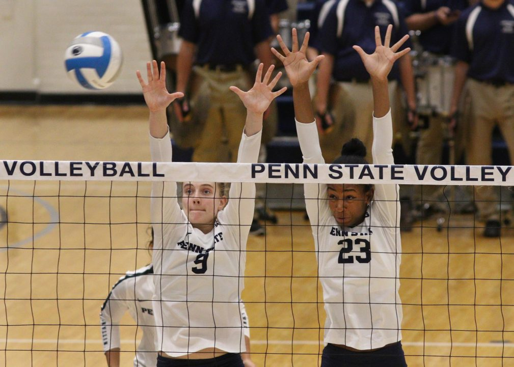 Penn State MB Kaitlyn Hord Returns to Action Against Rutgers