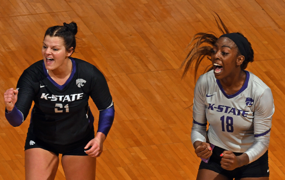 Big 12: Iowa State, Kansas State Score Road Upsets in Sweeps