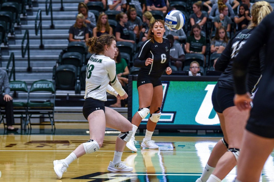 VolleyMob Player of the Week: Katie Forsythe, Loyola Maryland