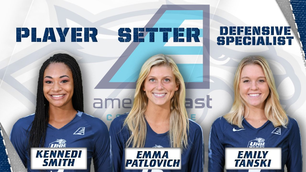 New Hampshire Earns Three of Four America East Weekly Honors