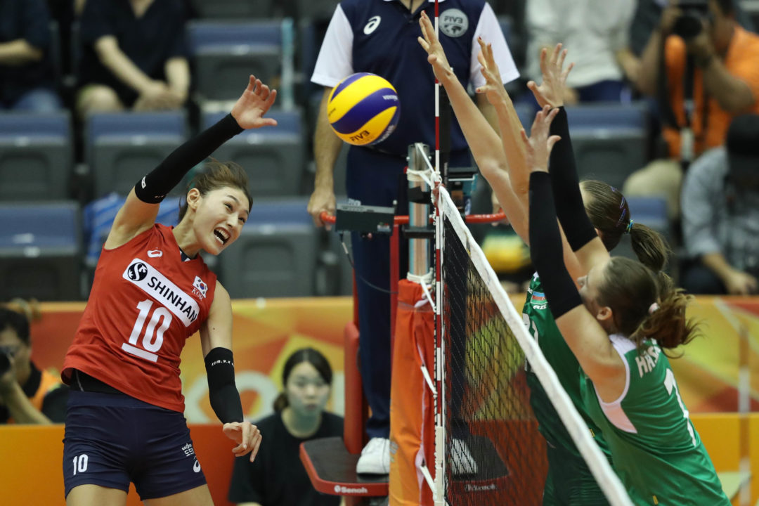 Volleymob's Women's WCH Eliminated Squads Dream Team