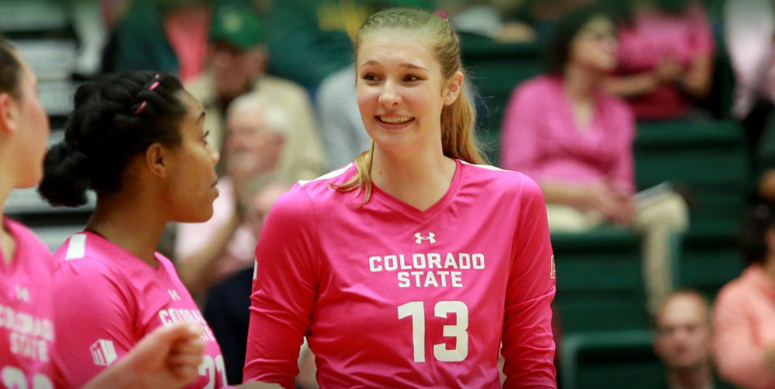 Colorado State's Hillyer, New Mexico's Mariessa Carrasco Honored by Mountain West