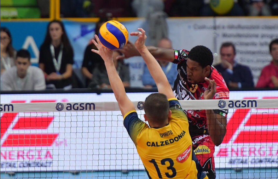 Perugia Sweeps Verona to Start Round 2 Behind 16 Points From Leon