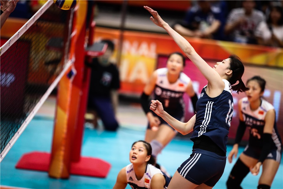 China Follows Yingying's 20 Points to Sweep of Dutch for Worlds Bronze