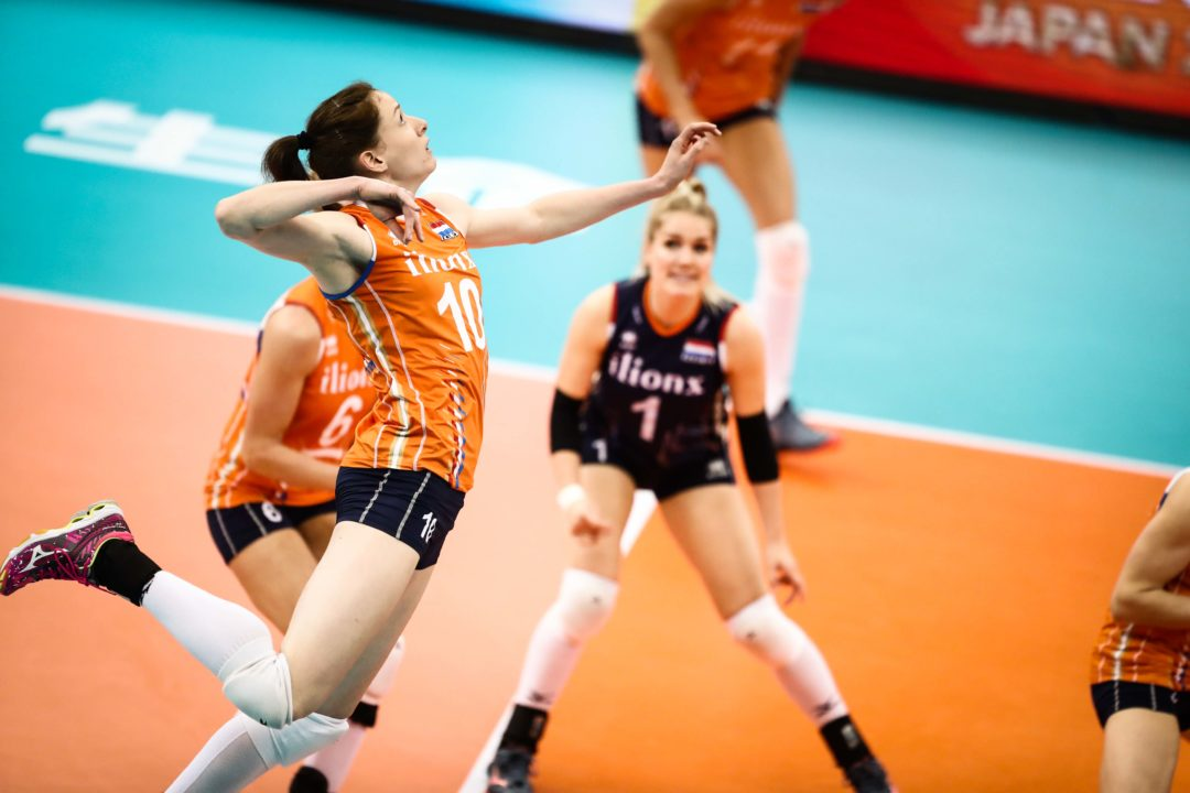Dutch Sweep Serbia for 1st in Group E; Japan Also Makes Final 6