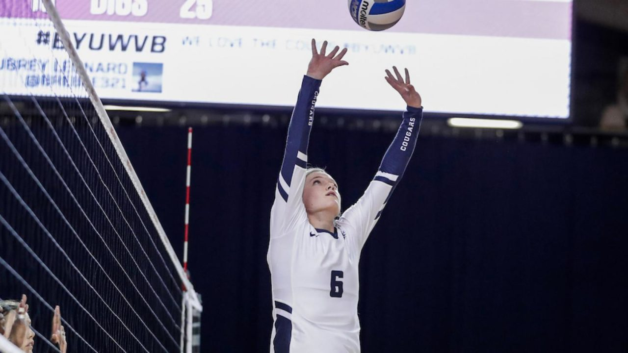 BYU's Haddock-Eppich Named WCC Player of the Week