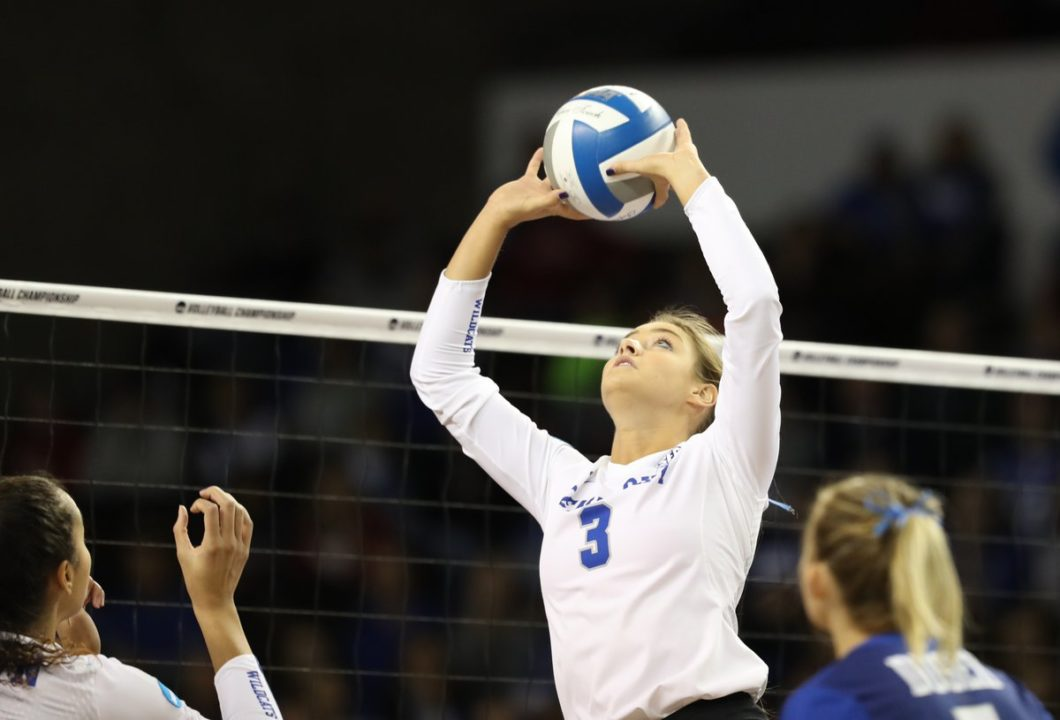 Kentucky's Madison Lilley Tabbed as SEC Player, Setter of the Week