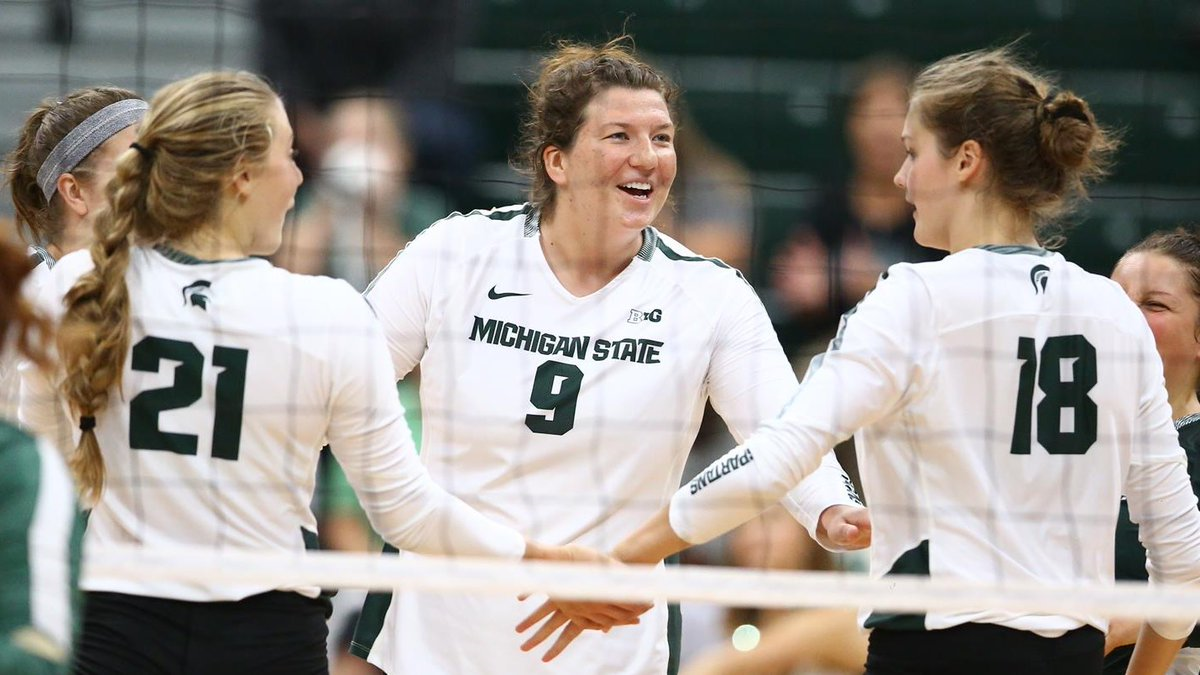 Big Ten: Spartans, OSU Win in 5; Penn State, Michigan Win 3-0 at Home