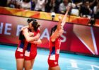 Serbia Rallies to Top Italy in 5 for First World Championships Title