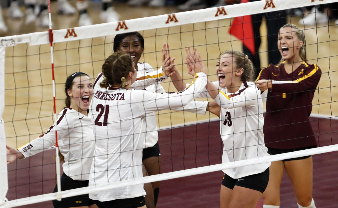 #4 Minnesota Snaps #3 Nebraska's Win Streak at 14 with 3-1 Victory