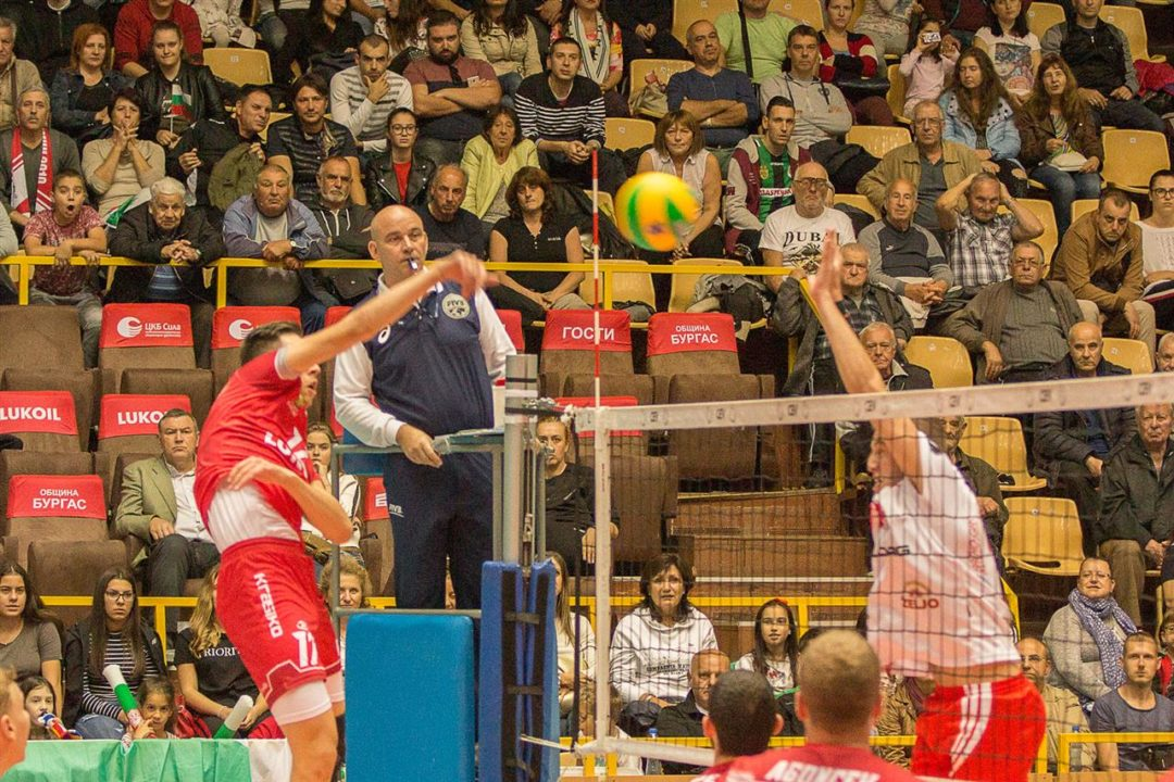 Neftohimic 2010 Burgas Advances to 2nd Round of #CLVolleyM