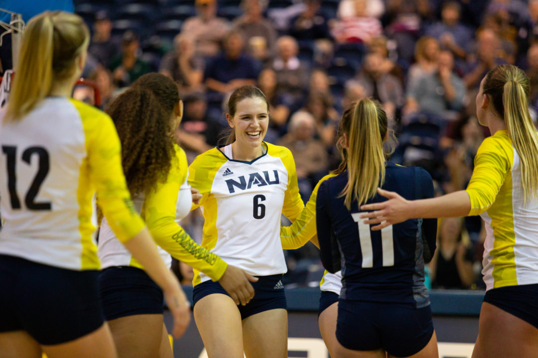 NAU Wins Third Straight with Sweep of Sacramento State
