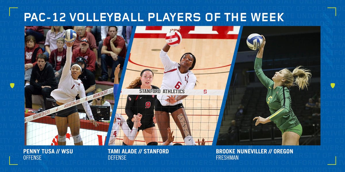 Pac-12 Honors Tusa, Alade, Nuneviller as Players of the Week
