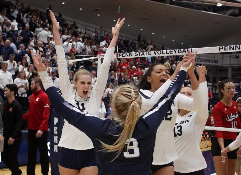 Penn State Sweeps Syracuse for NCAA Tourney Win #100, Trip to Sweet 16