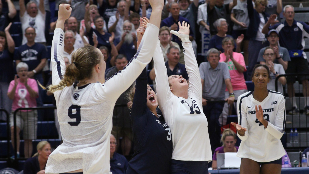 Big Ten: #11 Penn State Battles By #25 Purdue; #4 Nebraska & #21 Iowa Earn Sweeps