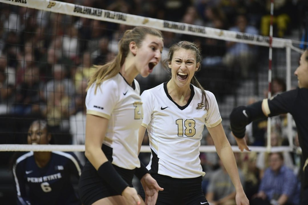 Big Ten: Penn State, Purdue Win in Five; Minnesota Stays Perfect