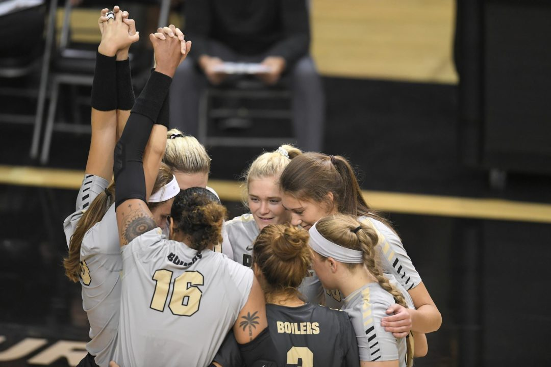 Purdue, Missouri Move Up Four Spots in AVCA Poll; BYU Remains No. 1