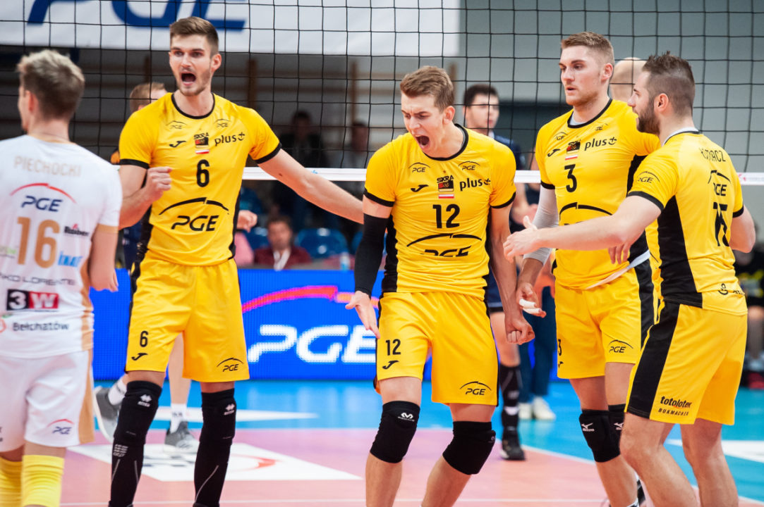 Langlois High Scorer for MKS Będzin But Skra Gets the Victory