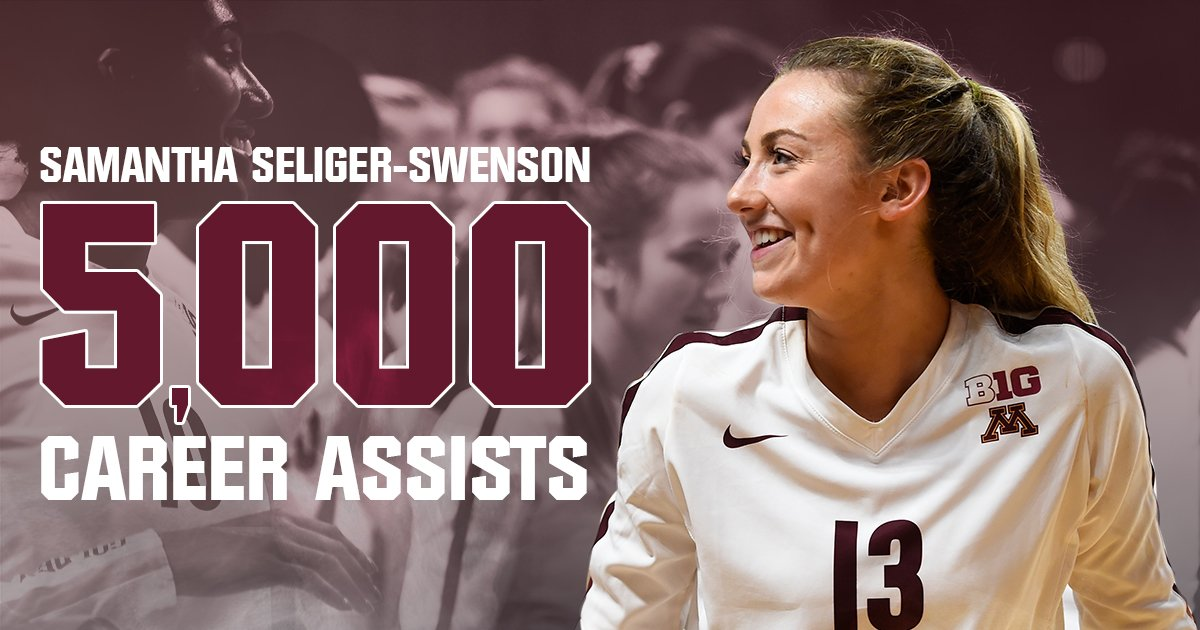 Seliger-Swensen Becomes Only Active Player with 5,000 Assists