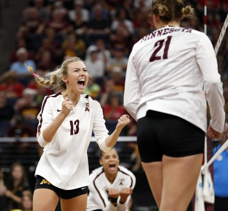 VolleyMob Player of the Week: Samantha Seliger-Swenson, Minnesota