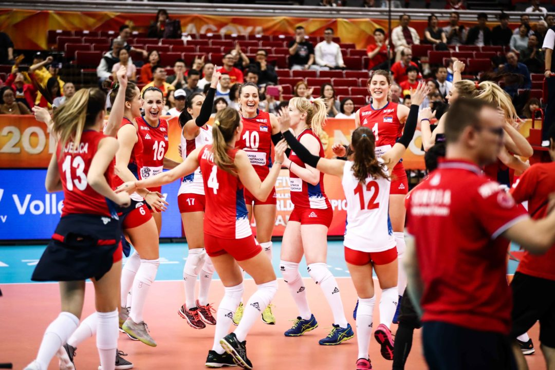 Serbia Hands Italy First Loss of Worlds to Take Pool G