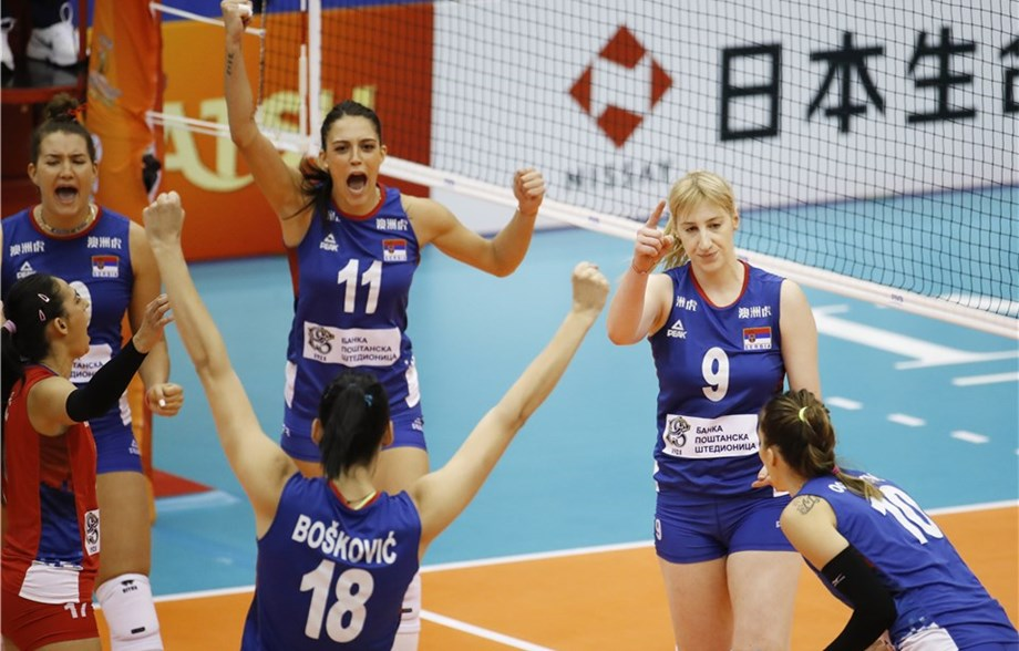 2018 W. Volleyball World Championships: October 1 Daily Summary
