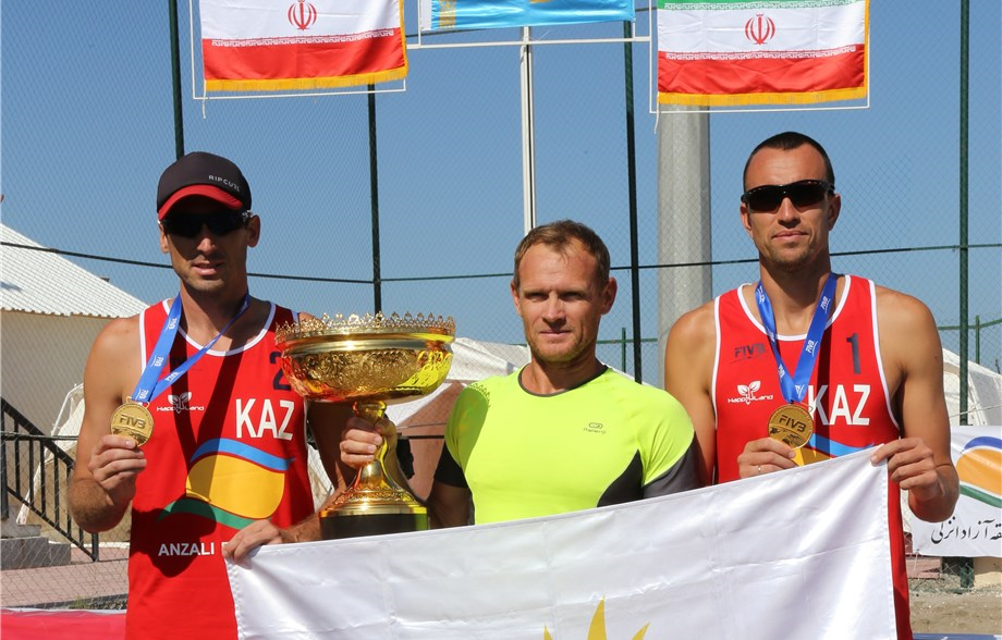 Sidorenko/Dyachenko Earn Kazakhstan's First FIVB Beach Gold in Iran