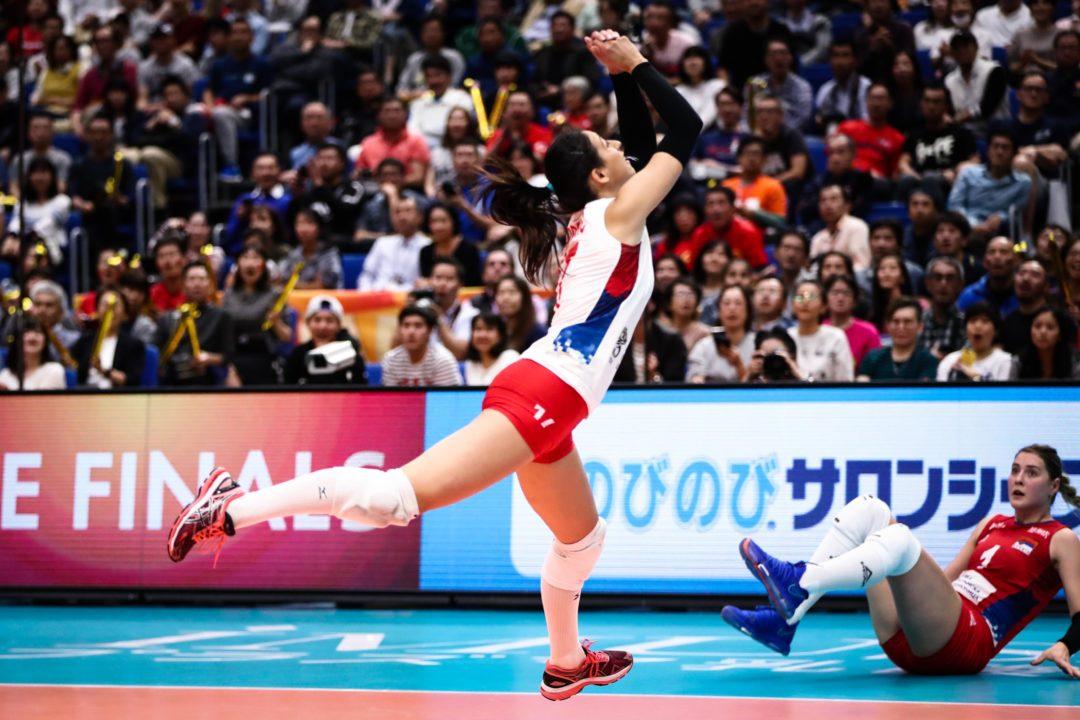 Women's Volleyball World Championship Attendance Falls 32% in 2018
