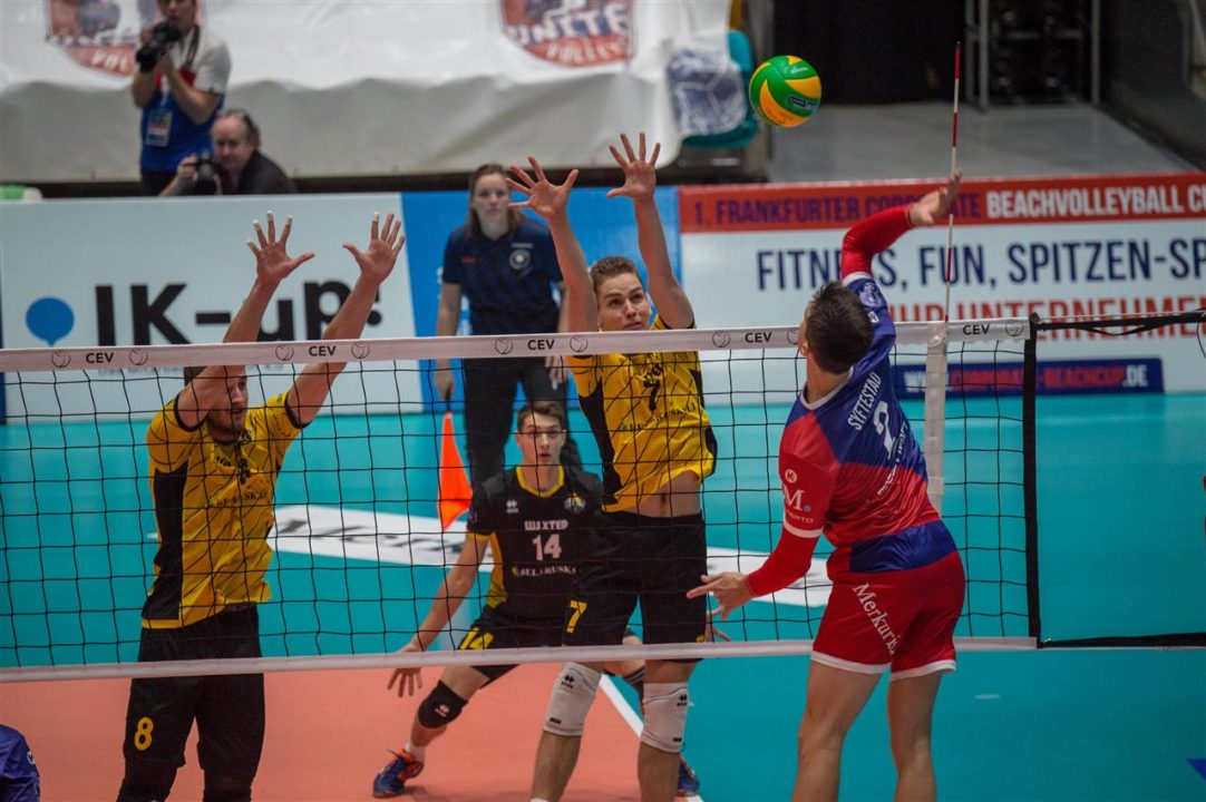 United Volleys Move on to 2nd Round of #CLVolleyM