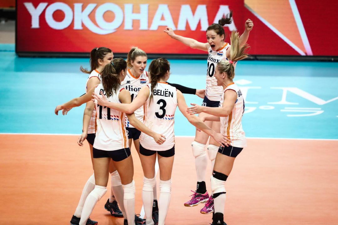 Pool A: #8 Netherlands Flies into FIVB Round 2 at 5-0