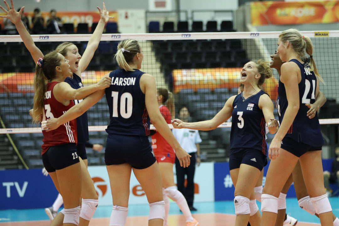Pool C: #2 USA Tops #5 Russia, Moves on to 5-0