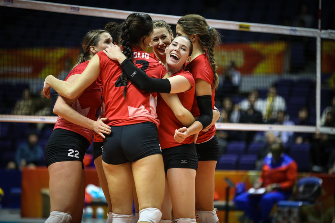 Pool B: #19 Canada Outlasts #25 Cuba for 1st FIVB Win