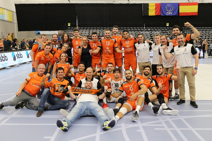 CV Teurel Wins in Golden Set, Posojilnic Advances Despite Losing