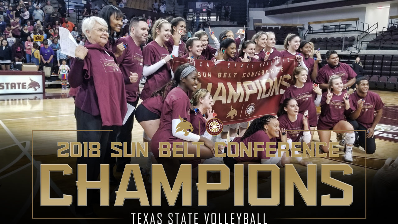 Texas State Clinches Sun Belt Regular Season Title with 17th-Straight Win