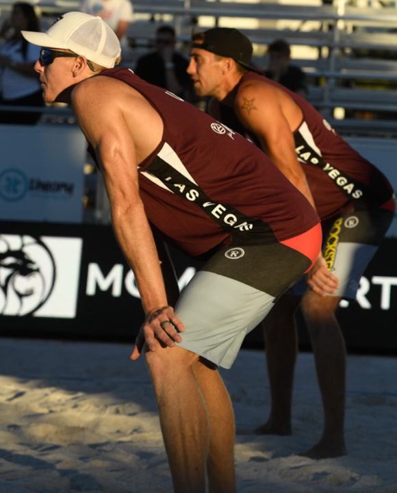 Crabb/Gibb, Bourne/Crabb Make Men's Quarters in Las Vegas