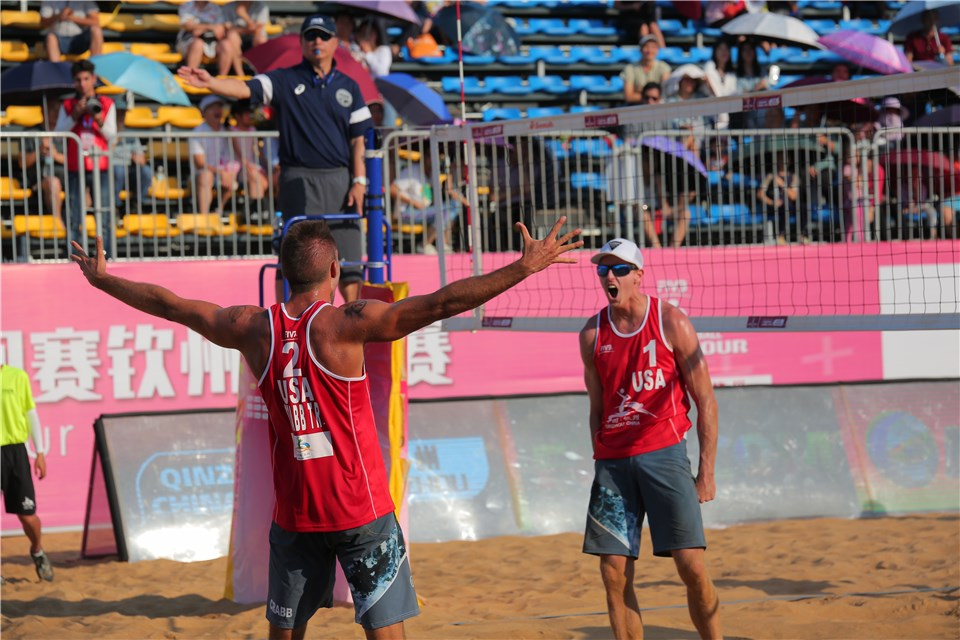 WATCH LIVE: Bourne/Crabb vs. Myskiv/Samoday in Qinzhou 3-Star Final