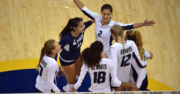 Sweeps by UC Davis, UC Irvine Highlight Big West Play on Saturday