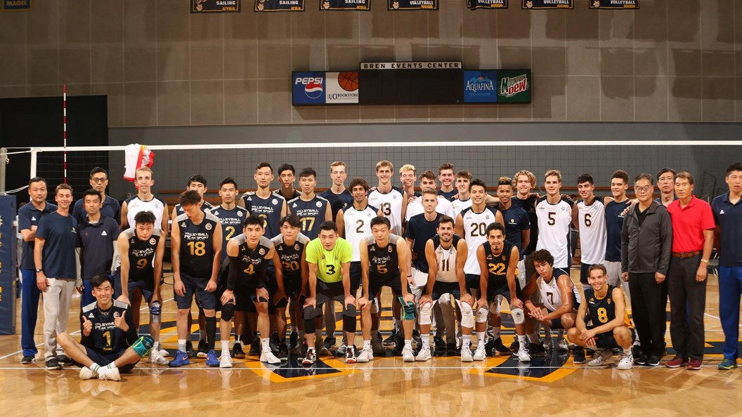 UC Irvine Men Finish Home & Home Series with Shanghai Golden Age
