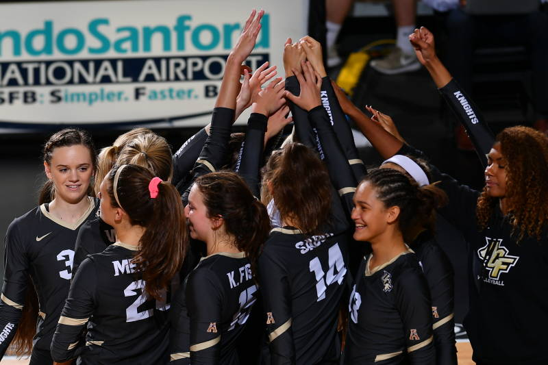 UCF Looks to Run Table in AAC with One Match Remaining