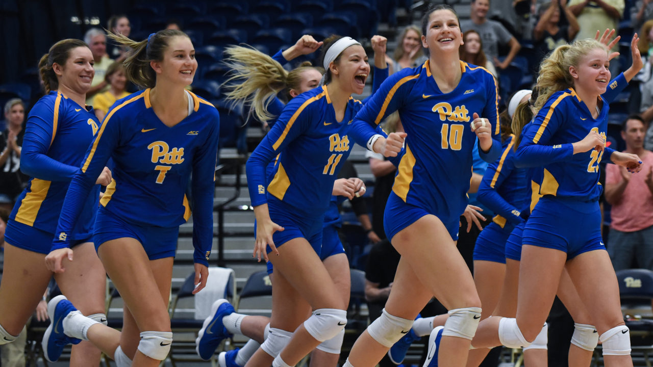 ACC: #8 Pitt, Louisville Remain Atop Conference Volleyball Standings