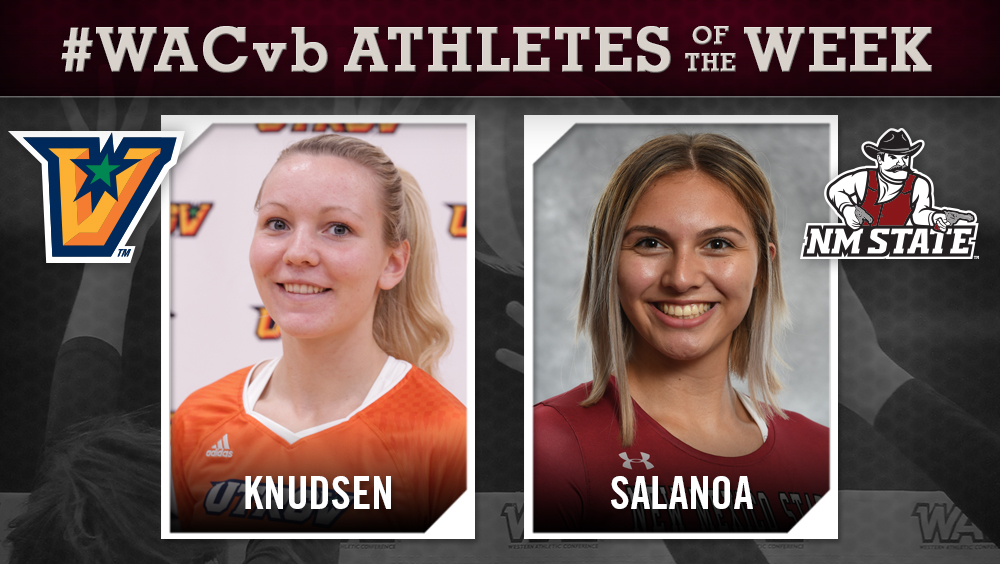 Knudsen Earns Second Straight WAC Honor, Salanoa Tabbed for Defense