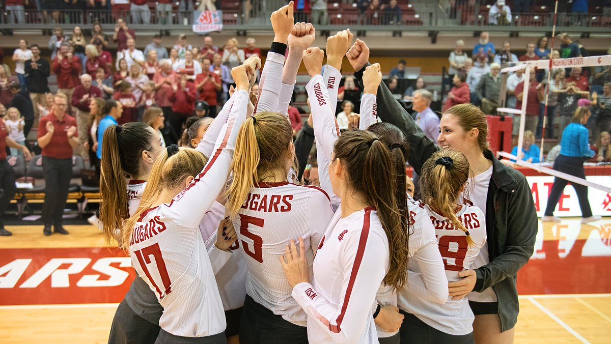 #17 Washington State Opens Road Slate with a Sweep of Utah